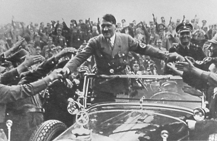 1933 + Majorité = Heil Hitler.