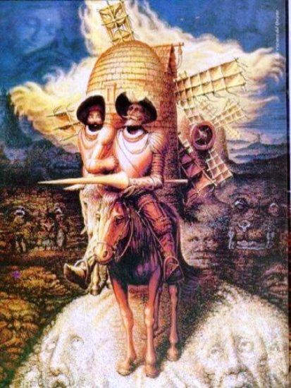 (Visiones Del Quijote de Octavio Ocampo)