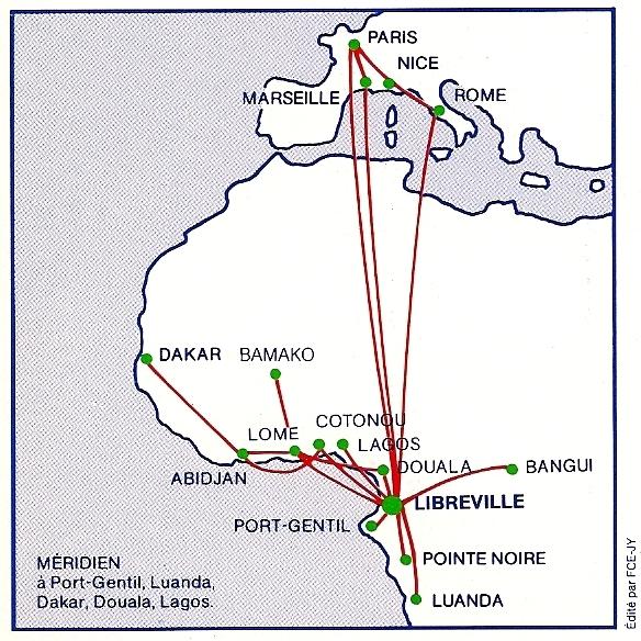 Air Gabon 1992