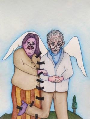 Jodorowsky et Montandon