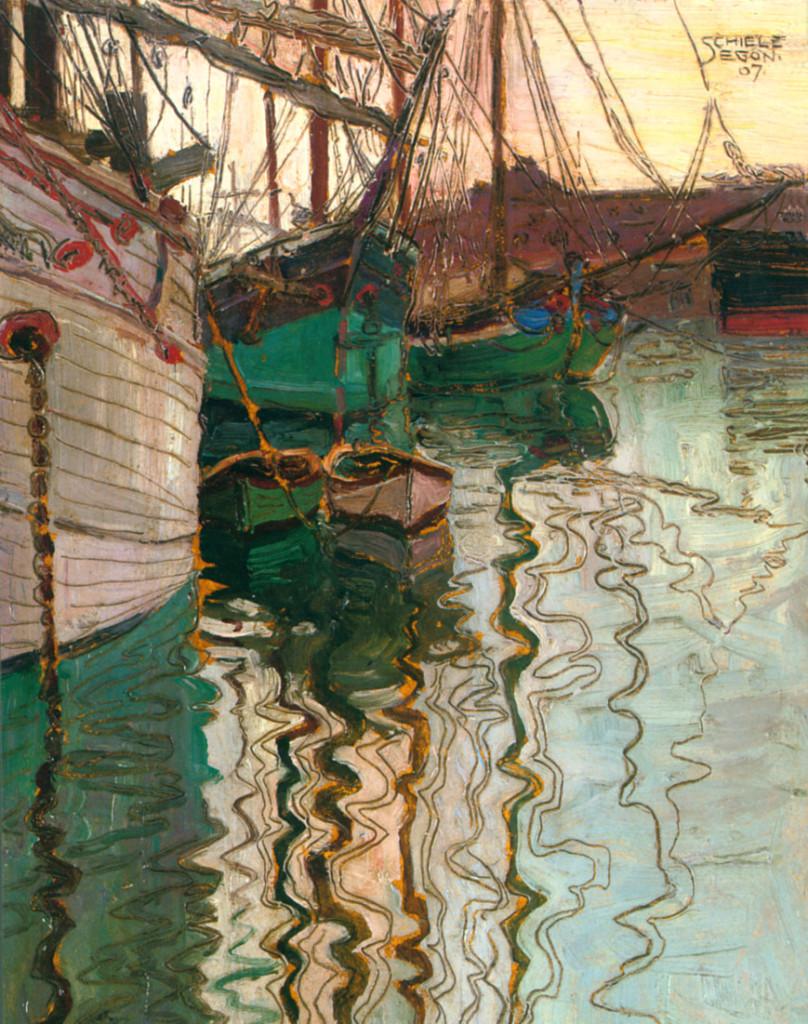 Hafen von Triest (1907)